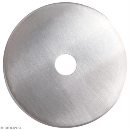 lame titanium pour cutter rotatif 60 mm ciseaux couture creavea. Black Bedroom Furniture Sets. Home Design Ideas