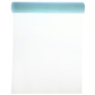 Chemin de table tulle couleur 5 M x 50 cm COULEUR:Bleu Ciel