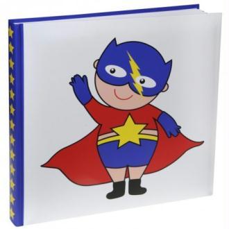 Livre d'or super héros boy