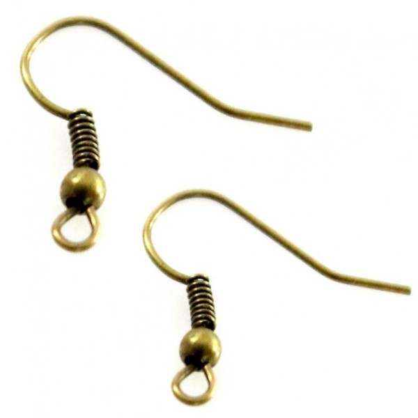 ref 16 crochets attaches boucles d/'oreilles argent avec brillant 4 Supports