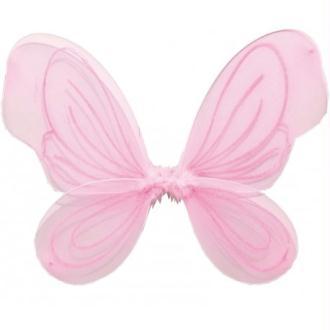 Ailes de fée rose enfant fille 36 x 49 cm Taille:Unique