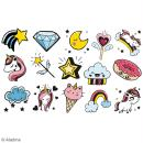 Kit de tampons Stampo kids - Licornes - 16 pcs - Photo n°2