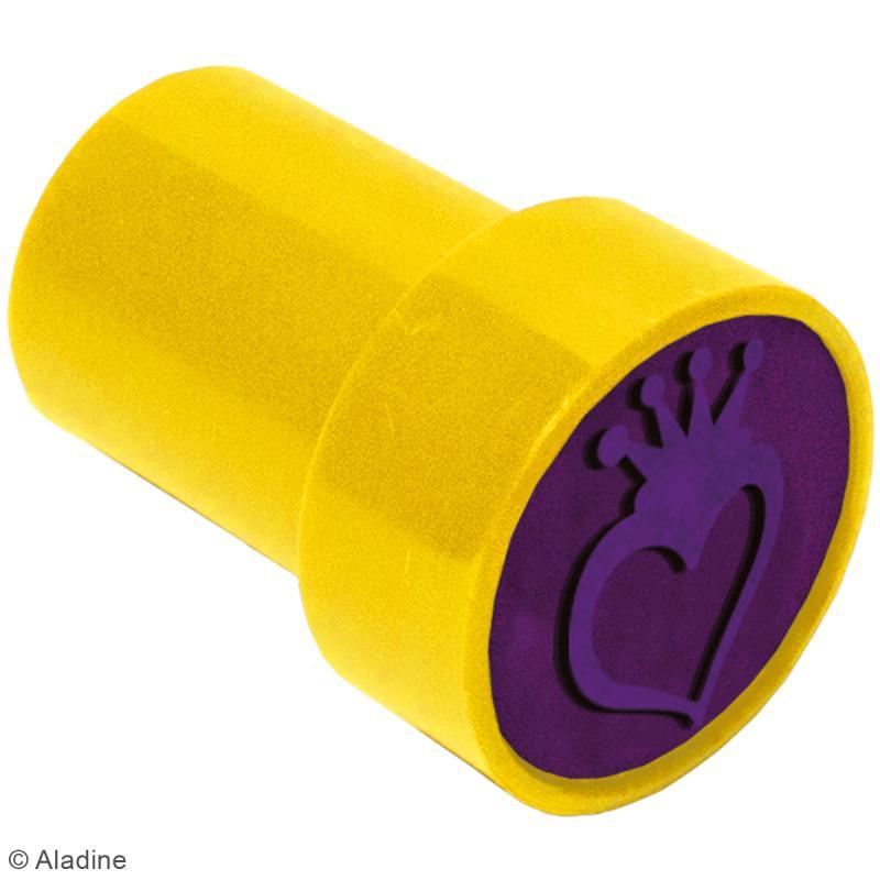 Kit de tampons enfant pré-encrés Stampo Easy - Princesse - 28 pcs - Photo n°2