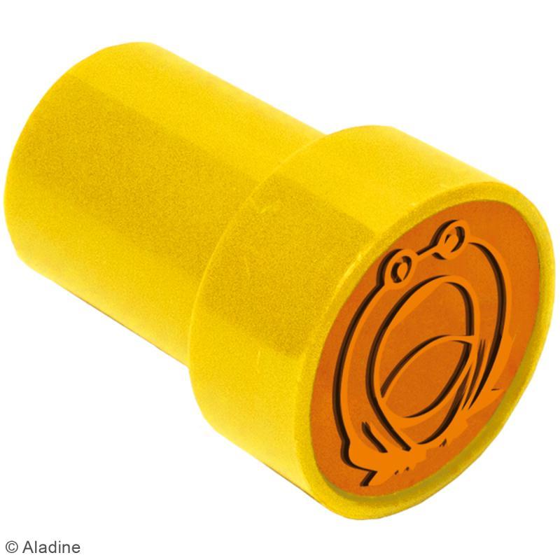 Kit de tampons enfant pré-encrés Stampo Easy - Alphabet - 28 pcs - Photo n°2