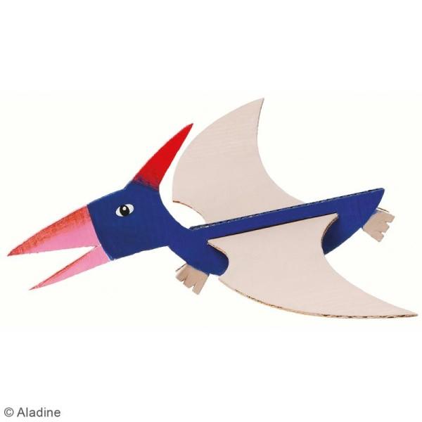 Dino'dulos Puzzle 3D en carton à monter et à décorer - Dinosaures - Photo n°6