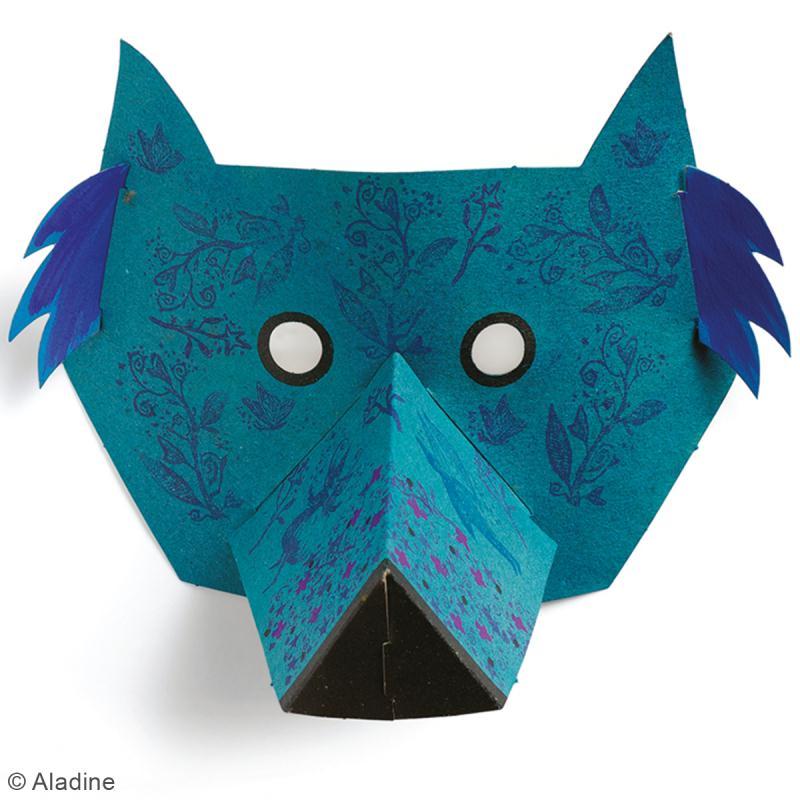 Kit Mask'animaux - 8 masques à assembler et à décorer - Photo n°4