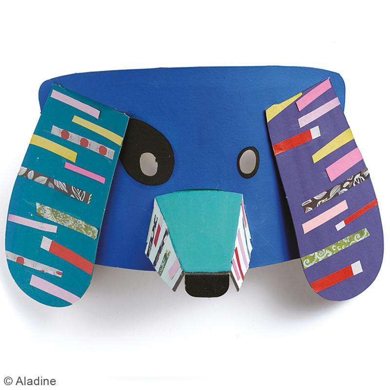 Kit Mask'animaux - 8 masques à assembler et à décorer - Photo n°5