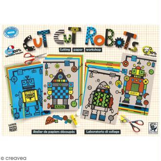 Kit découpage et collage - Cut Cut Robots