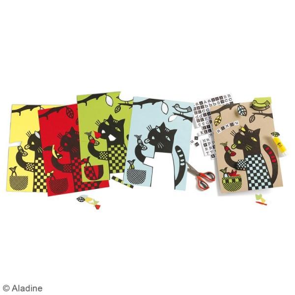 Kit découpage et collage - Cut Cut Animaux - Photo n°2