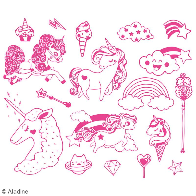 Kit Stampo Minos - Licorne - 19 pcs - Photo n°2