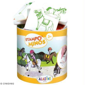 Kit Stampo Minos - Chevaux - 13 pcs