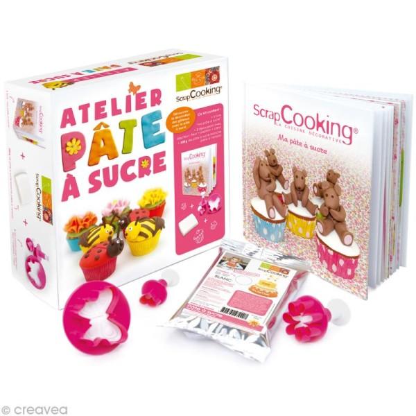 Kit atelier Pâte à sucre - Photo n°1