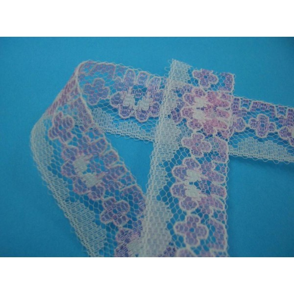 22m Ruban satin 20mm couleur bleu turquoise Neuf