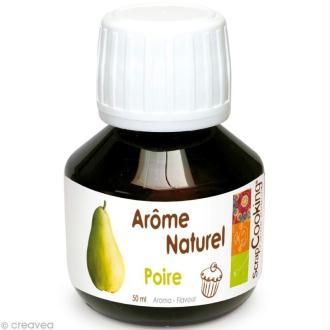 Arôme alimentaire naturel Poire 50 ml