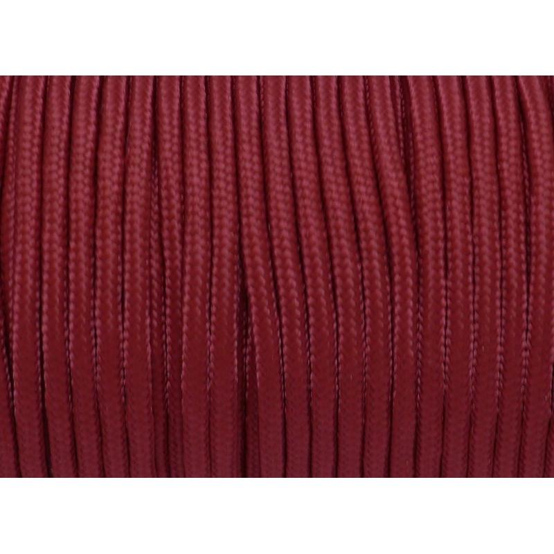 2m paracorde pour bracelet 3mm de couleur rouge grenat fil paracord creavea. Black Bedroom Furniture Sets. Home Design Ideas
