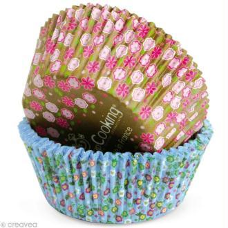 Caissette cupcake papier Liberty x 36