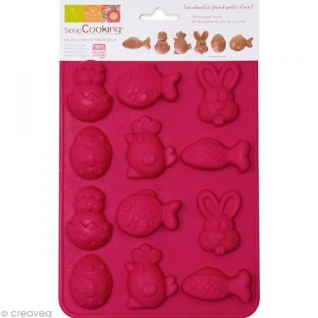 Moule chocolat de Pâques x 12 - Photo n°1