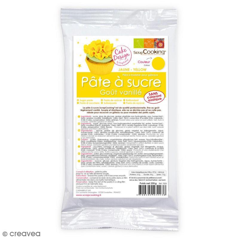 p 226 te 224 sucre jaune 250 g pr 233 paration p 226 te 224 sucre creavea