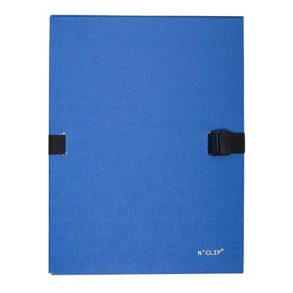 1 Chemise dos extensible N'clip - Bleu - Photo n°1