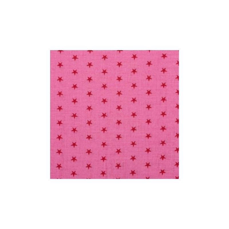 tissu etoiles coloris pommette tissu toile creavea. Black Bedroom Furniture Sets. Home Design Ideas