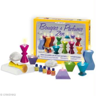 Kit création bougies et parfums zen