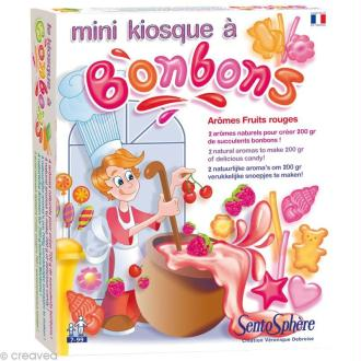 Mini kiosque à bonbons - fruits rouges