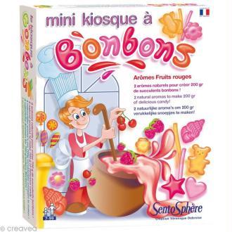 Mini kiosque à bonbons - fruits rouges