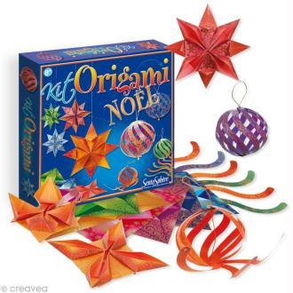 Papier origami Kit Noël pour débutant - 28 feuilles