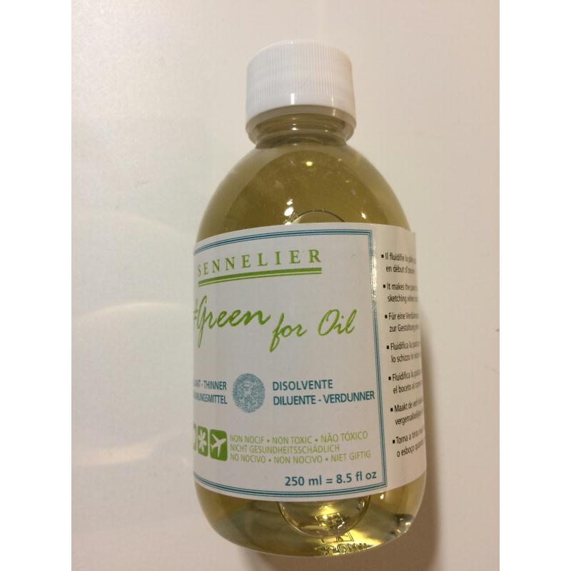 Diluant pour peinture l 39 huile non nocif gamme green for - Peinture brillante pour cuisine ...
