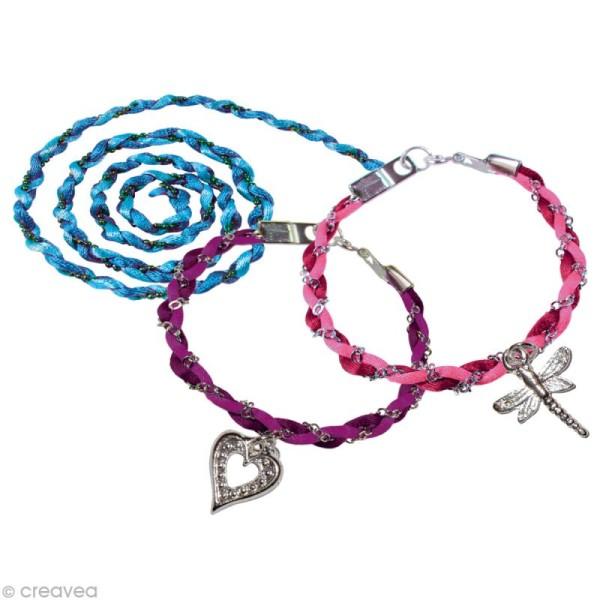 Kit bijoux Bracelets et bandeaux tressés - Photo n°2