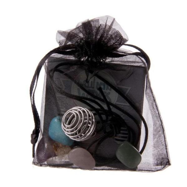 Kit - Faites votre propre collier de pierres, Couleur: Noir - Photo n°2