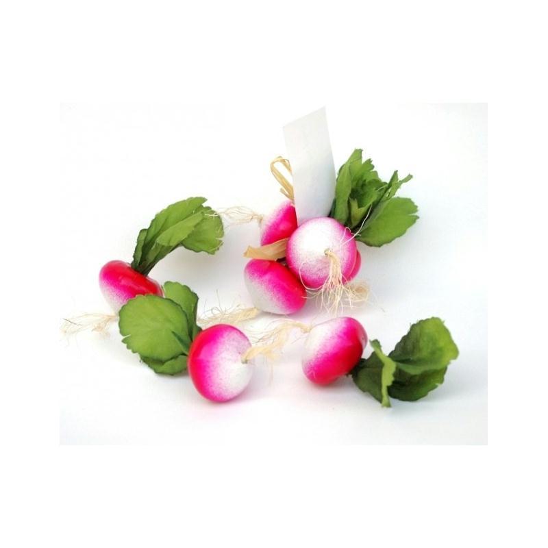 Decoration Legumes Radis : Légumes artificiels radis artificiel botte de fruits