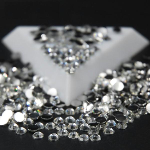 500 Strass 1,5mm Argenté crystal a coller pour vos creation, decoration - Photo n°1