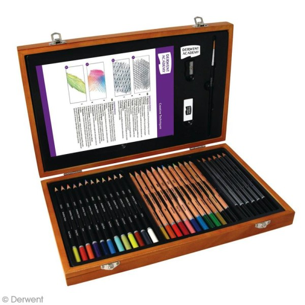 Coffret à dessin Academy - 33 pcs - Photo n°2