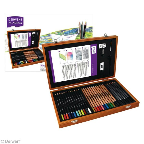 Coffret à dessin Academy - 33 pcs - Photo n°3