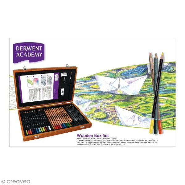 Coffret à dessin Academy - 33 pcs - Photo n°1