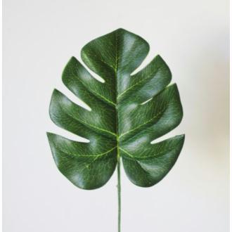 Feuille Philodendron artificielle 13cm