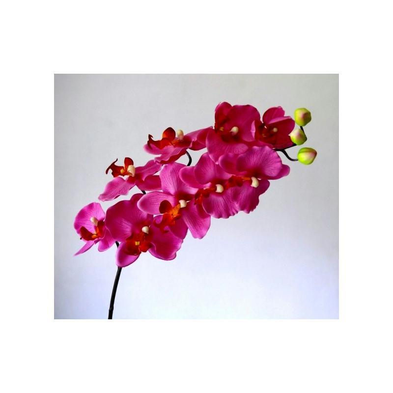 orchid e artificielle d co h103cm rose 9 fleurs artificielles fleurs artificielles haut de. Black Bedroom Furniture Sets. Home Design Ideas