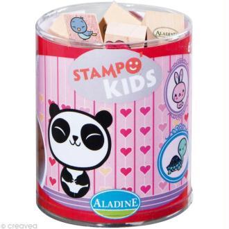 Kit 15 tampons Stampo'kids Kawai