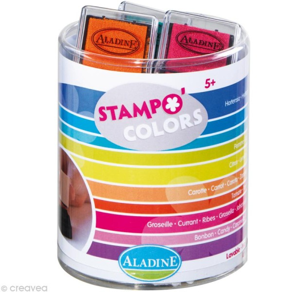 Encreur Stampo'colors Energy x 10 - Photo n°1