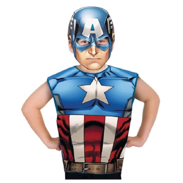 Party pack captain américa - 3/6 ans - Photo n°1