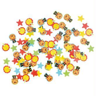 Mix confettis décoratives Circus Party