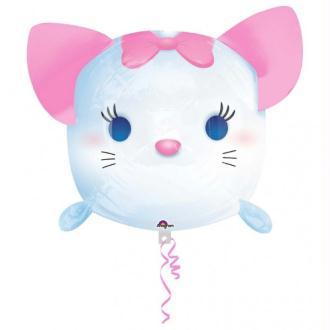 Ballon Métallique Marie des Aristochats Tsum Tsum 48 cm
