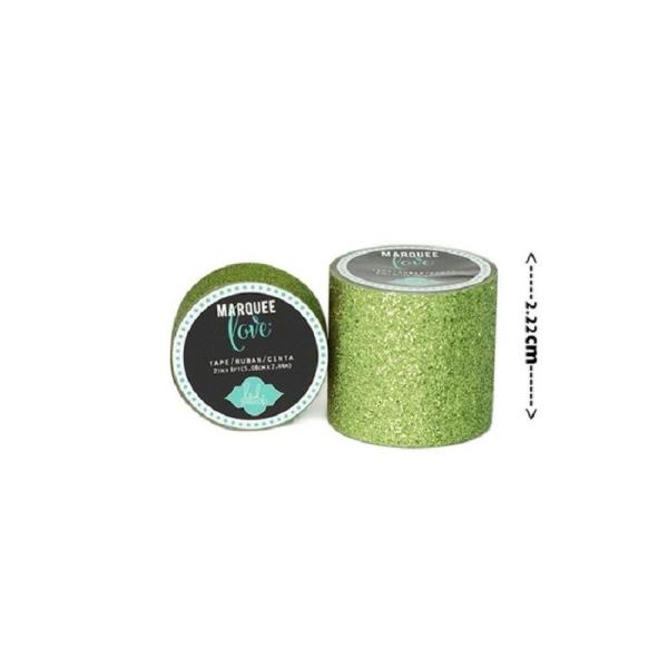 Masking tape / Washi tape fantaisie Citron vert brillant - Photo n°1