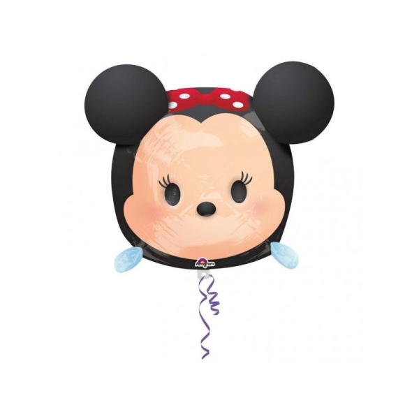 Ballon Métallique Minnie Tsum Tsum 48 cm - Photo n°1