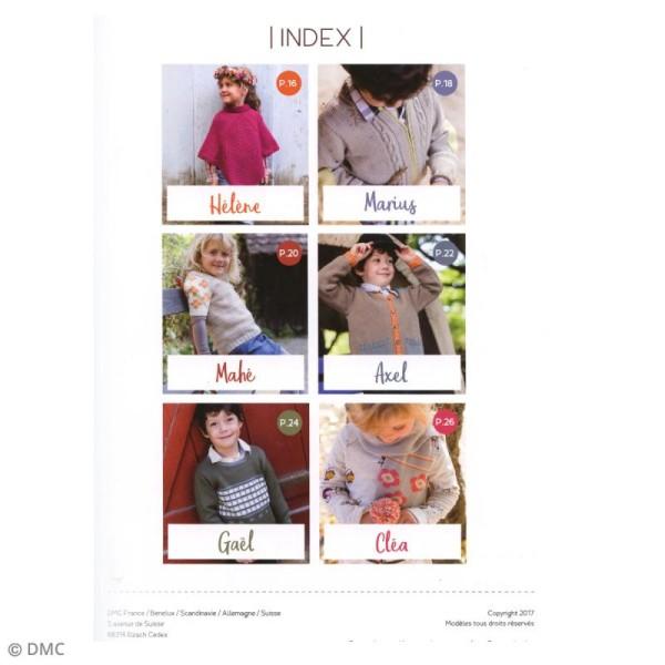 Catalogue tricot DMC - Woolly & Woolly 5 - 6 modèles enfants - Photo n°2