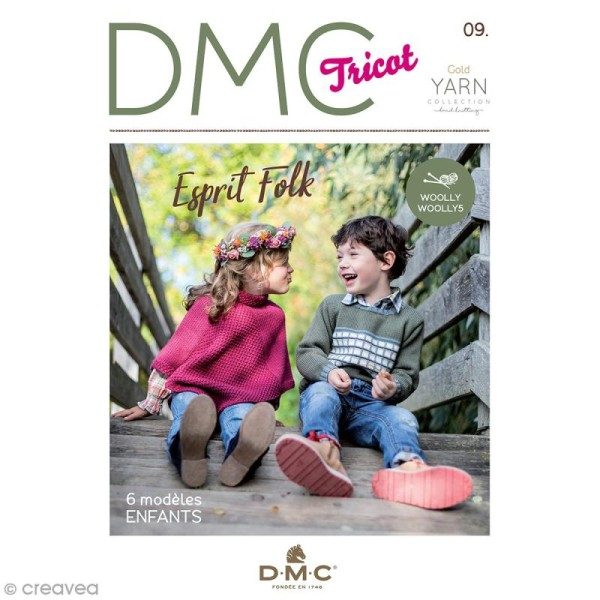 Catalogue tricot DMC - Woolly & Woolly 5 - 6 modèles enfants - Photo n°1