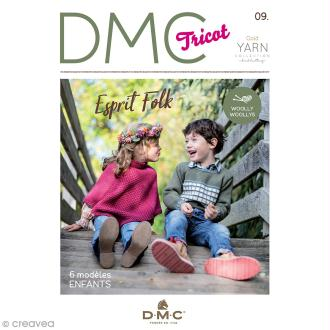 Catalogue tricot DMC - Woolly & Woolly 5 - 6 modèles enfants