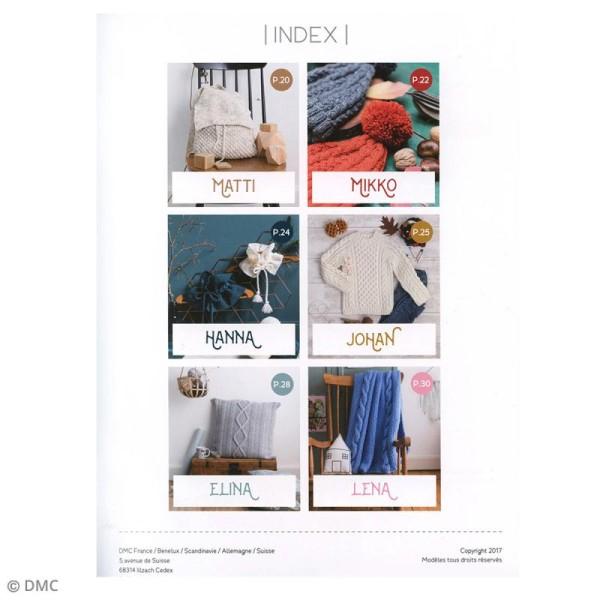 Catalogue tricot DMC - Gamme Knitty - 6 modèles maison - Photo n°2