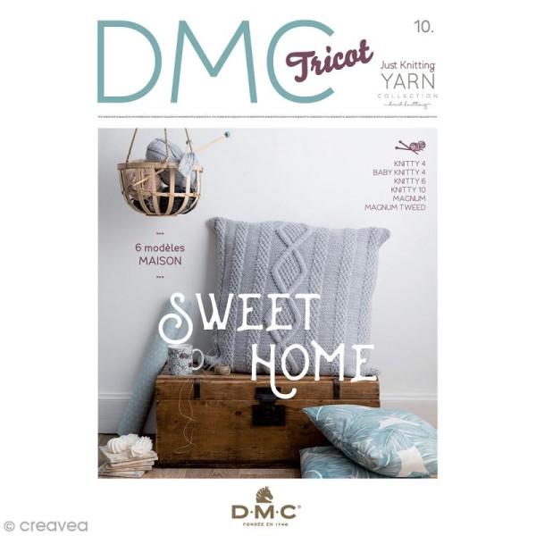 Catalogue tricot DMC - Gamme Knitty - 6 modèles maison - Photo n°1